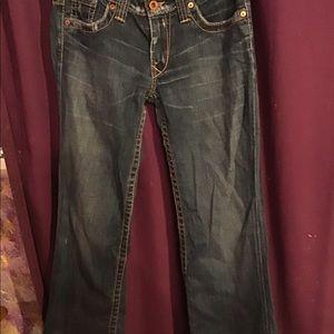 Nwot ladies distressed jeans
